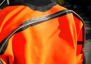 Back zip model