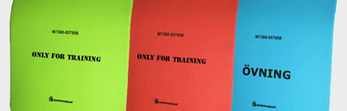 Training Insert Plate
